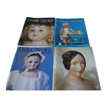 Dolls News Magazines (4) 2004 Complete Year - UFDC