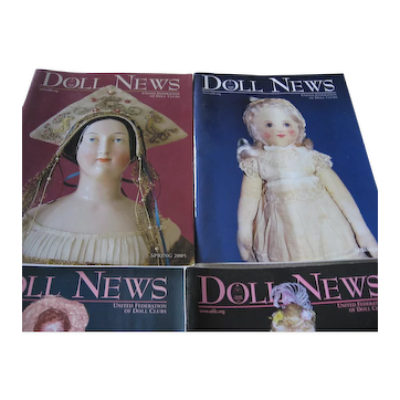 Doll Magazines - 2005 Complete Year (4) Spring, Summer, Fall & Winter - UFDC