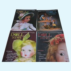 Doll News Magazines (4) 2006 Complete Year - UFDC