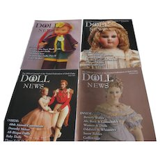 Doll News Magazines (4) 2009 Complete Year - Spring, Summer, Fall & Winter - UFDC