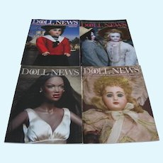 Doll News Magazines - (4) 2012 Complete Year - Spring, Summer, Fall & Winter - UFDC