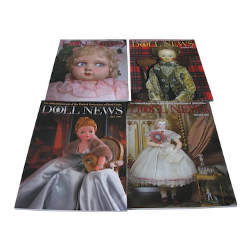 Doll News Magazines (4) 2016 Complete Year - UFDC