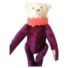 Steiff *Circus Dolly Bear* - With Hang Tag - Ltd Ed. - Ean 0164/34 - Maroon & White