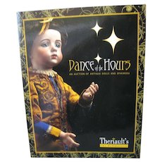 """Theriaults *Dance of the Hours* Auction Catalog Book - 8"""" x 11"""" Softcover - 136 Pages"""