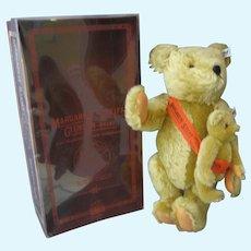 Steiff - Pair of Teddy Bears - Lt Ed - In Original Box With COA - #7848 Mohair - Never Displayed