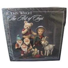 *R. John Wright* - *The Art of Toys* Book - Brand New In Shrink Wrap - by Krystyna Poray Goddu