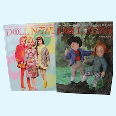 Doll News - Summer 2010 & Spring 2011 - Max & Moritz and Barbie - Excellent Condition.