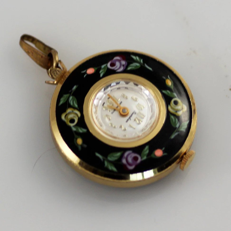 snitch pocket retro wings harry necklace golden pendant clock quidditch potter watch antique