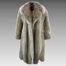Pierre CARDIN Fur Coat - Large and Warm
