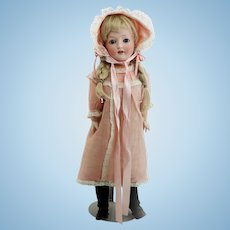 """1890s Antique German Doll 24"""" with Sweet Expression"""