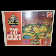 1973 Mattel Ringling Barnum and Bailey Circus Toy - MIB - Red Tag Sale Item