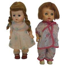 Two 1950's R&B Littlest Angel Dolls