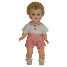 """1954 Ideal 13"""" Betsy Wetsy with Skin Wig - orig. Romper"""