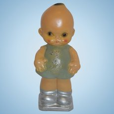 Carnival Chalkware Kewpie - One Foot Tall!