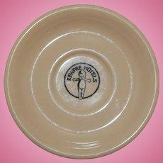 1930-40's Kewpee ( Kewpie ) Hotels Plate