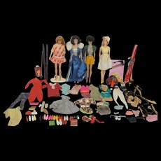 1960's Barbie, Midge, and Accessories