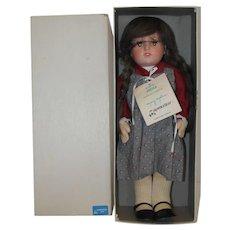 MIB Ursula Doll by Mary Moline - Celluloid head and felt body