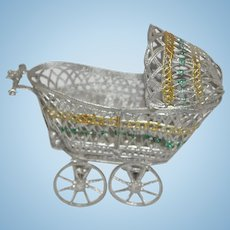 Soft Metal Baby Buggy