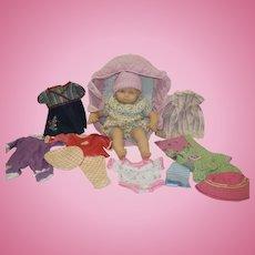 Pleasant Company Bitty Baby with Wardrobe - pre-Mattel