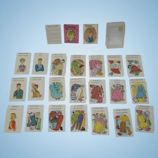 1960's Ideal Tammy Playing Cards