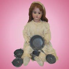 Five Piece Children's Granite Ware Set
