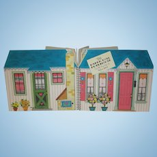 1950-60's Hallmark Paper Doll Playhouse - Mint