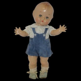 1940's Kewpie Like Eugenia Composition Doll