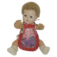 1950's Little Boy Blue Apron - for Dy-Dee, Tiny Tears,etc