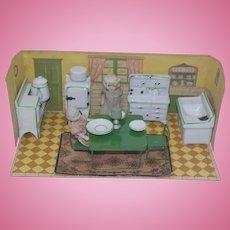 Vintage Japan Kitchen Room Box