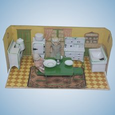 Vintage Japan Kitchen Room Box