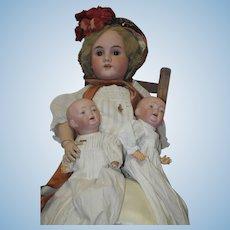 "German 12"" Twins - Marked 3-3 - Kaiser Babies"