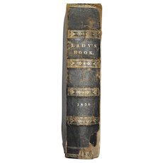 1850's Godey's Ladies Book - 12 Months Bound