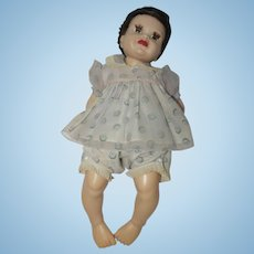"1950's Flocked Dress with Diaper Cover for 18"" - 20"" doll"