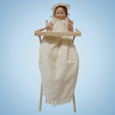 Victorian High Chair - perfect for displaying doll in Christening Gown