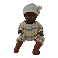 1930's Effanbee African American Composition Baby Doll
