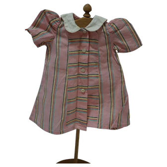1940's Pink Striped Dress, for Patsy, etc