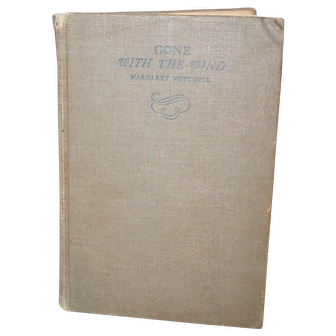 1936 Edition of Gone WithThe Wind by Margaret Mitchell