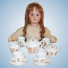 Vintage Rose O'Neill Kewpie Tea Set - made in Austria