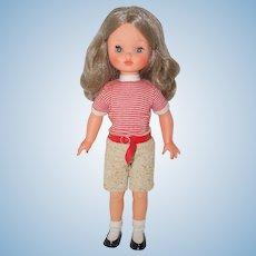 "1960's 17"" Furga doll"