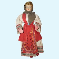 """17"""" Ethnic Cloth Doll - Beautiful Outfit"""