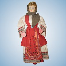 "17"" Ethnic Cloth Doll - Beautiful Outfit"