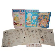 Kewpie Paper Collection - 1920's Ladies Home Journal Art, 1967 Paper Dolls, etc