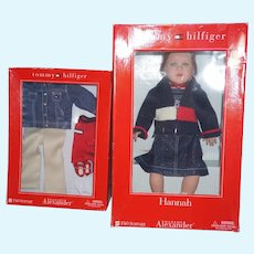 F.A.O Schwarz Tommy Hilfiger Hannah Doll and extra outfit - by Madame Alexander and MIB