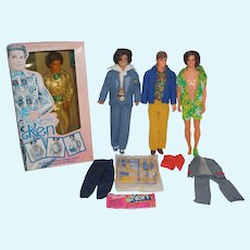 It's Raining Kens - Alleluia! Four Vintage Mattel Kens to be exact