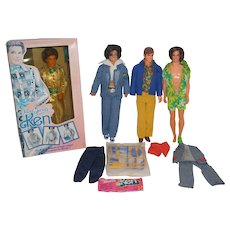 It's Raining Kens - Alleluia! Four Vintage Mattel Kens to be exact