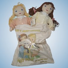2002 IDEX Lennon Sisters Best Pals Dolls, CD, and Bag - SIGNED by each Lennon Sister