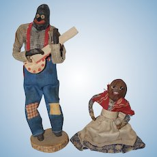 Cotton Patch Doll and Pecan Head Doll