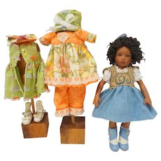 "Kish Bitty Belle Magnifique 11"" Doll - plus additional outfit"