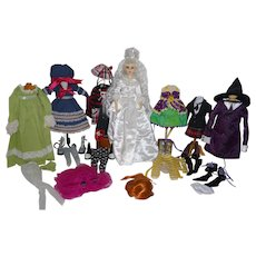 2008 Goodreau Innuendo Snow Princess BJD - IDEX exclusive - plus 6 additional outfits & 2 wigs