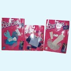 1988 Mattel Barbie Dinner Date outfits - NRFP